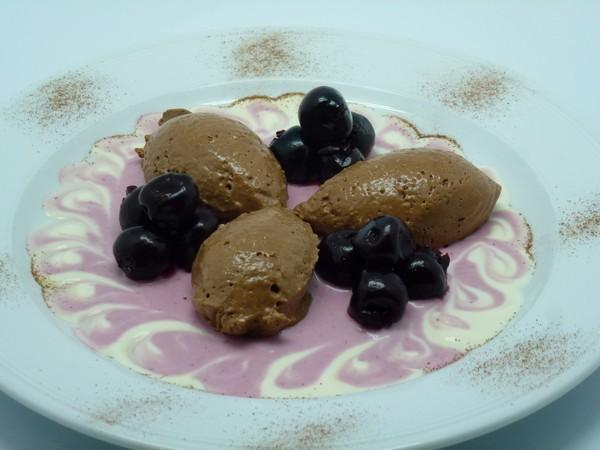 Schokoladen-Amarettinimousse