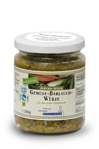 Gemüse-Bärlauch-Würze