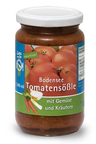Bodensee-Tomatensößle mit Gemüse und Kräutern
