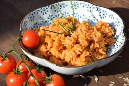Tomatenreis-reduziert