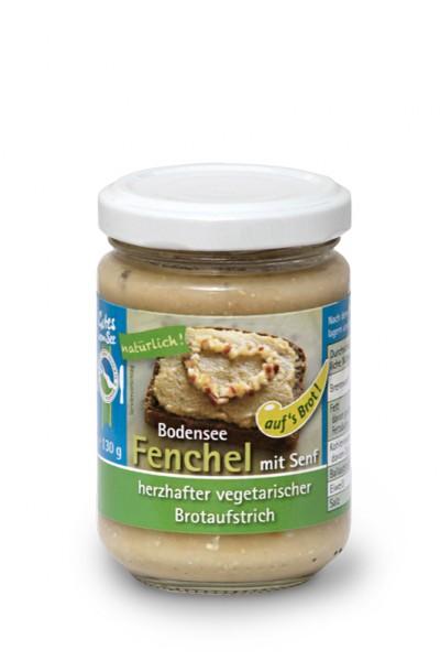 Fenchel mit Senf auf's Brot