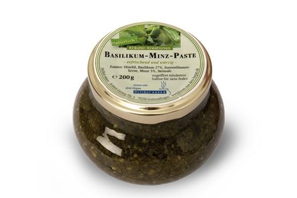 Basilikum-Minz-Paste