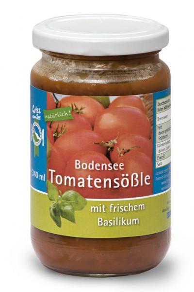 Bodensee-Tomatensößle mit frischem Basilikum